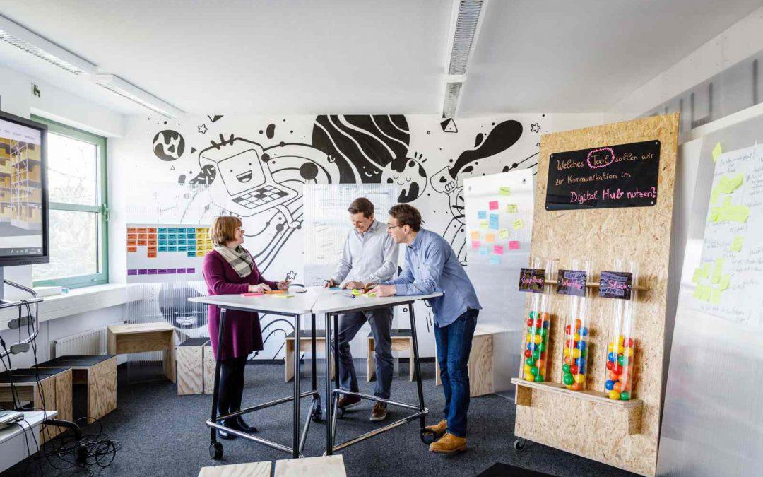 Gemeinsam mit dem Digital.Hub Logistic Gründer fördern