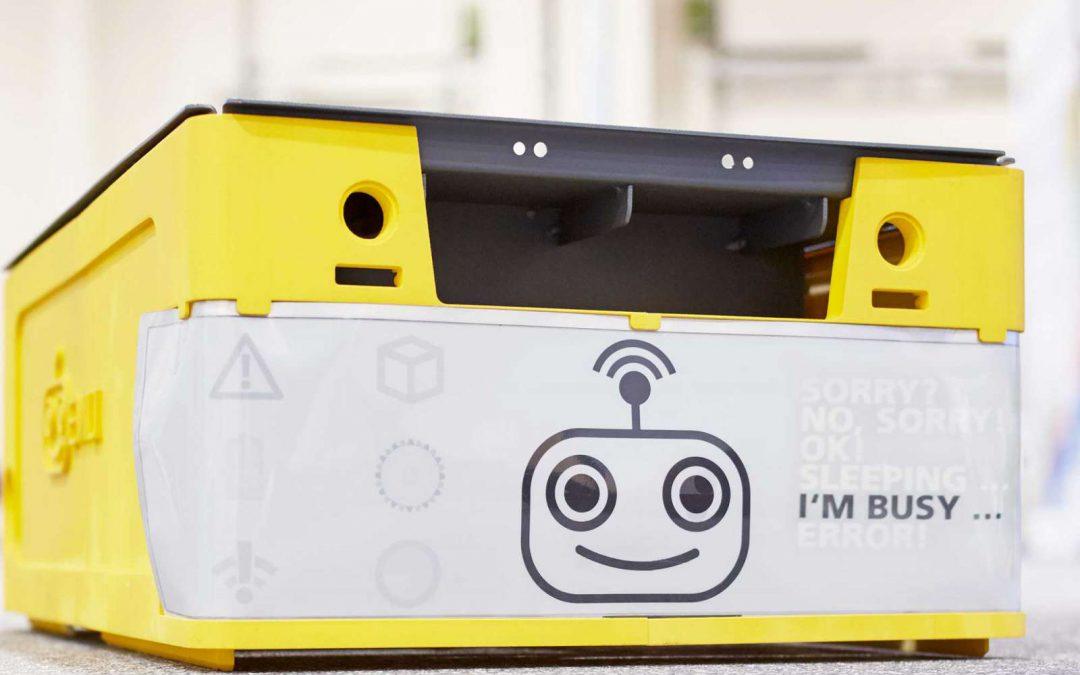 »Emili«, guck mal: Studie sorgt für bessere Interaktion mit autonomem Behälter