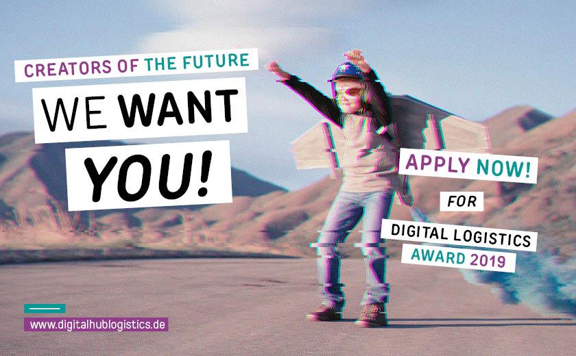 Jetzt anmelden für Digital Logistics Award