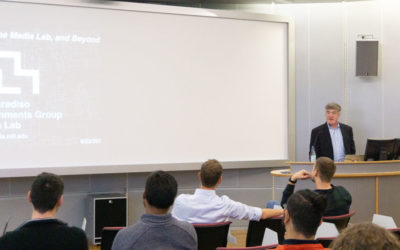 Besuch vom MIT Media Lab