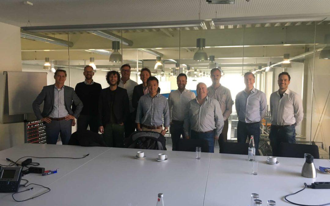 Besuch des SHAREHOUSE – das Warehouse Innovation Learning Lab (WILL) aus den Niederlanden